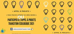 l'appel à projet Transition 2021  - Mouscron, une ville durable