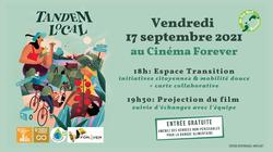 Projection Film Tandem Local  - 17 septembre 2021