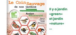 """Pour un jardin """"Nature"""" bienvenue - à Mouscron aussi ..."""