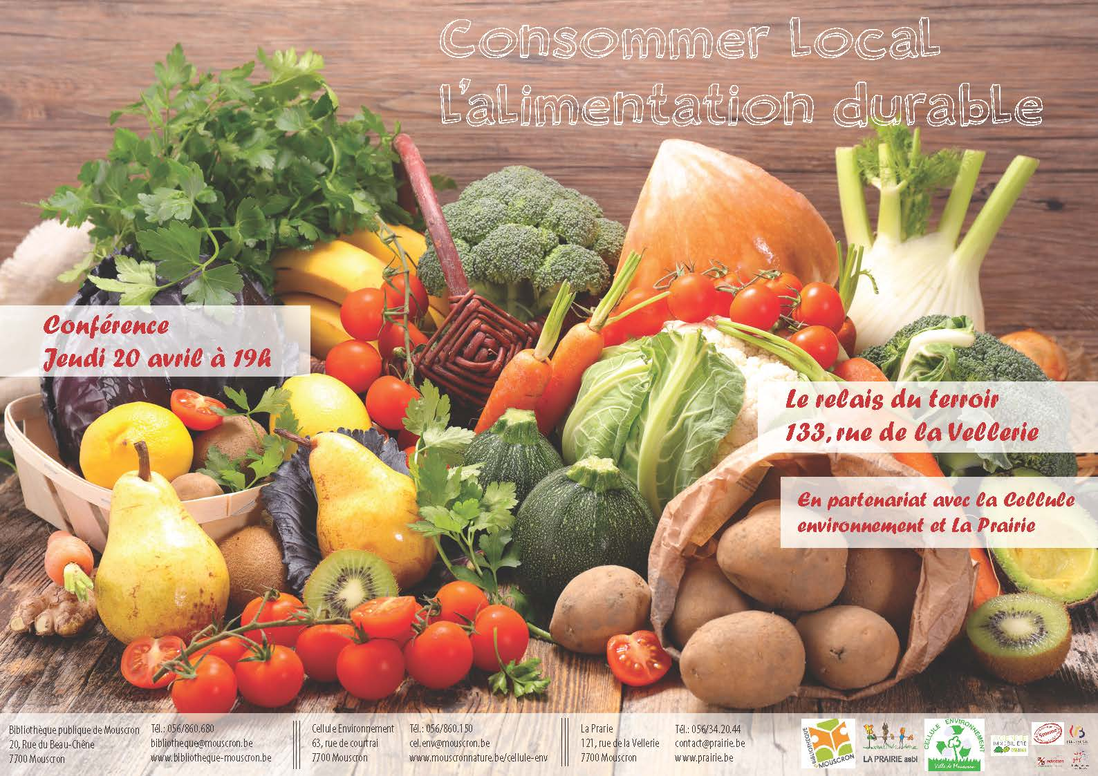 Affiche consommer local